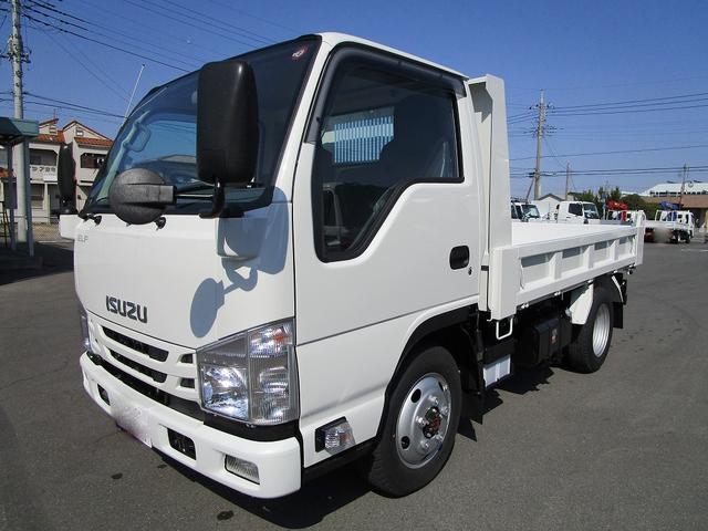 いすゞ 2t 新明和製 土砂ダンプ 4WD車
