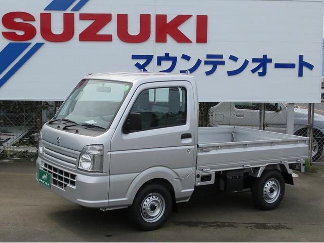 スズキ KCエアコン・パワステ・4WD 届け出済み未使用車