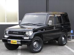 ランドクルーザープラドEX 後期型 ナローボディ4ナンバー 新品タイヤ サンルーフ