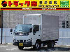 エルフトラック4WD・1.3t積・アルミバン・フラットロー