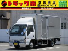 エルフトラック2.95t積・アルミバン・跳ね上げパワーゲート1000kg