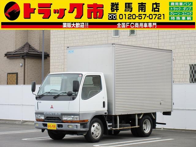 三菱ふそう 4WD・2t積・アルミバン