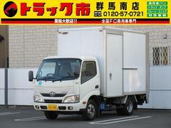 ダイナトラック2t積・パネルバン・垂直パワーゲート・サイドドア・ラッシング