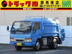 エルフトラック2t積・パッカー車・回転式・ETC
