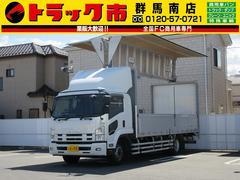 フォワード7.3t積・増トン・電動アルミウイング・ラッシングレール2段