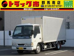 エルフトラック2t・アルミバン・パワーゲート1000kg・ラッシングレール