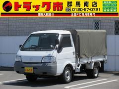 ボンゴトラック4WD・1t積・平ボディー・幌・ディーゼル車