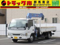 エルフトラック3t積・タダノ6段クレーン・ラジコン・2.9t吊・フックイン