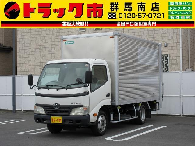 トヨタ 1.7t積・アルミバン・パワーゲート・総重量5t未満