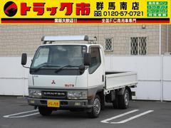 キャンターガッツ1.5T積・フルタイム4WD・平ボディ・バックモニター
