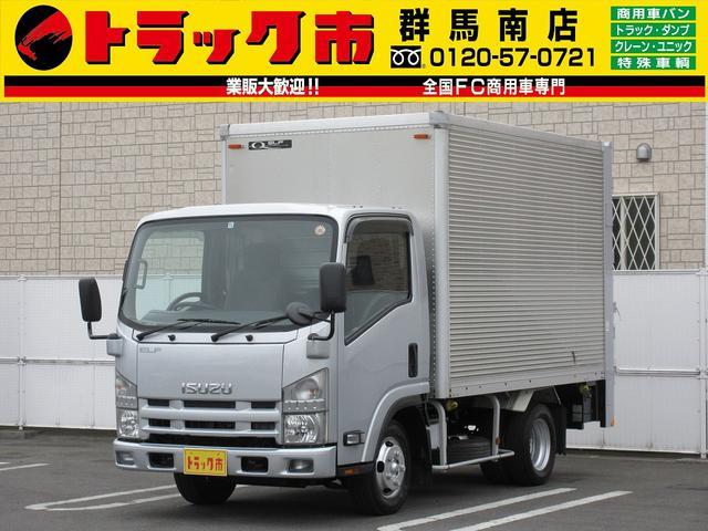 いすゞ 2t積・アルミバン・垂直パワーゲート・車輛総重量4905kg