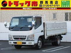キャンター2t積・セミロング平ボディ・フルタイム4WD