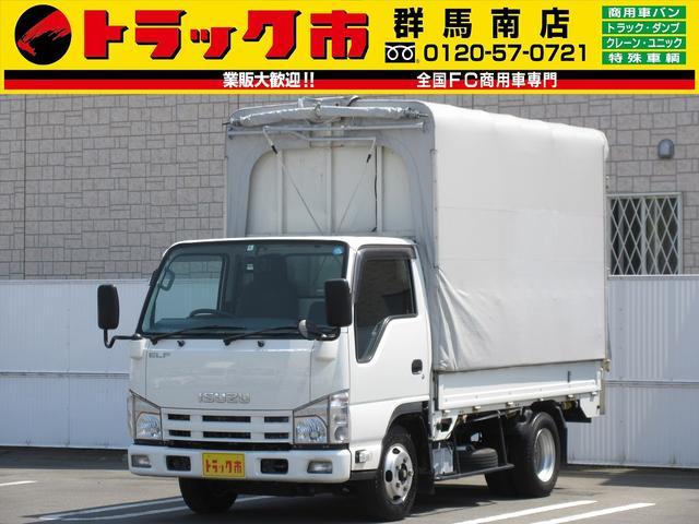 いすゞ 2t積・幌ウイング・AT・車両総重量5t未満