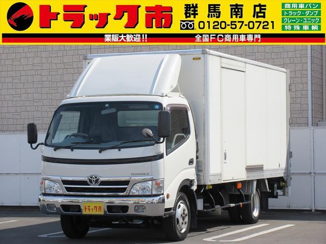 トヨタ 2t積・パネルバン・パワーゲート600kg・サイドドア