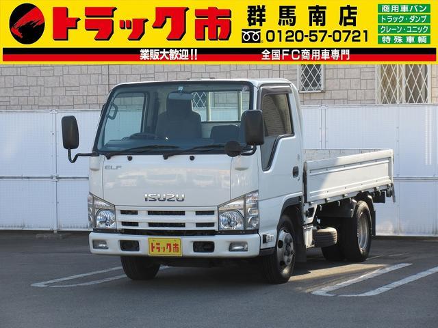 いすゞ 2t積・エルフ・平ボディ・AT・標準10尺・総重量5t未満