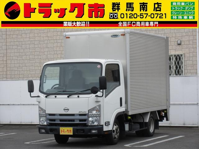 2t積・アルミバン・垂直パワーゲート・車両総重量5t未満