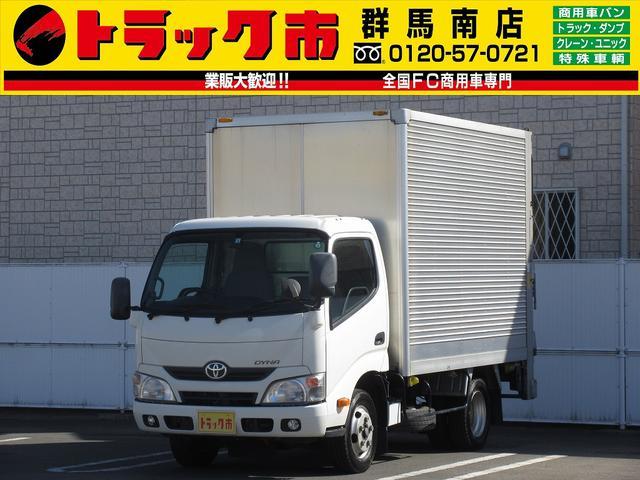 トヨタ 2t積・アルミバン・標準10尺・垂直パワーゲート650kg