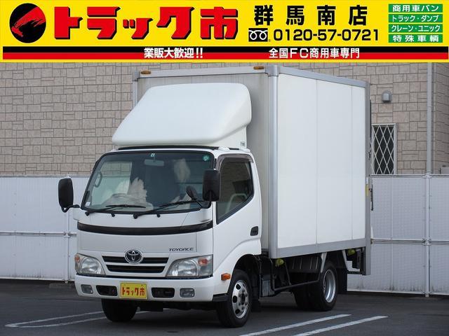 トヨタ 1.25t積・パネルバン・標準10尺・垂直ゲート500kg