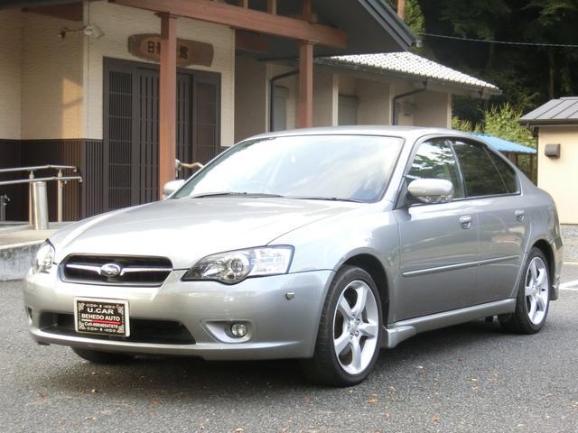 スバル レガシィB4 ABS CD MD ディスチャージドランプ 4WD