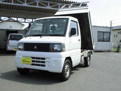ミニキャブトラックダンプ 荷台ステンレス張り 4WD ダンプ 5速 パワステ