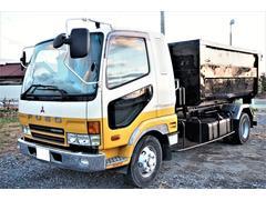 ファイター新明和ツインホイストアームロール 積載3850kg ベット付
