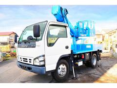 エルフトラック高所作業車 アイチ製 SS10A 9.7m 積載500kg