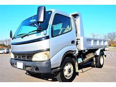 ダイナトラック積載4000kg 増トン 3方開 新明和製 ダンプ 高床