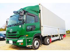 クオンアルミウイング 積載13600kg リアエアサス 380馬力