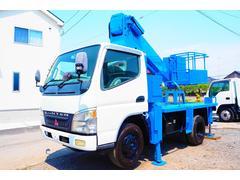 キャンター高所作業車 タダノ AT−121 12m 鉄バケット ターボ