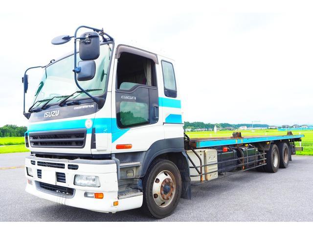 いすゞ ギガ JR コンテナ車 積載15400kg リターダ 380馬力