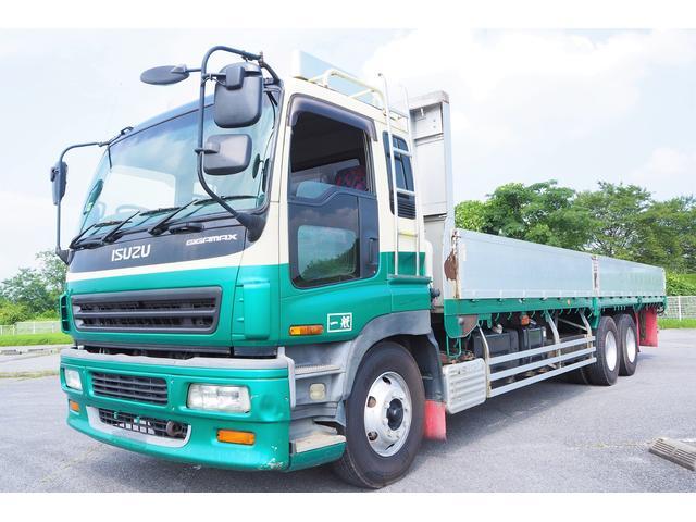 いすゞ アルミブロック平ボディ 分割式 積載14200kg