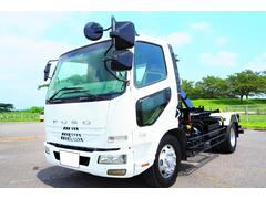 ファイター増トン 新明和ツインホイスト アームロール 積載7800kg