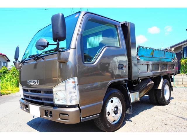 いすゞ エルフトラック  高床 5000kg未満 積載2000kg 極東開発製 ダンプ 外装仕上げ済み