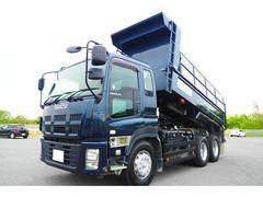 ギガ いすゞ完成ボディ ダンプ リアコボレーン付き 積載9000kg 380馬力 ETC付