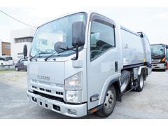 エルフトラック 新明和製 パッカー車 塵芥車 G−RX GR052 巻込式 5.1立米 連続スイッチ付き 汚水タンク 排出方法ダンプ式 積載2000kg