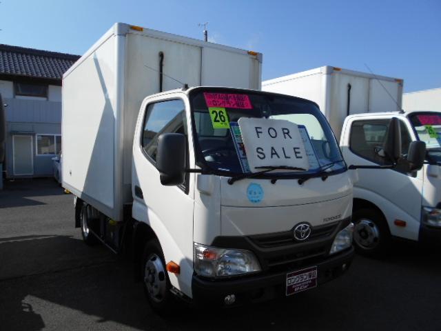 トヨタ 冷凍車 アイドリングストップ ETC バックモニター