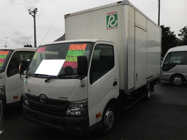 トヨタ ダイナトラック ロングフルジャストロー トラック AC MT オーディオ付 DVD ETC