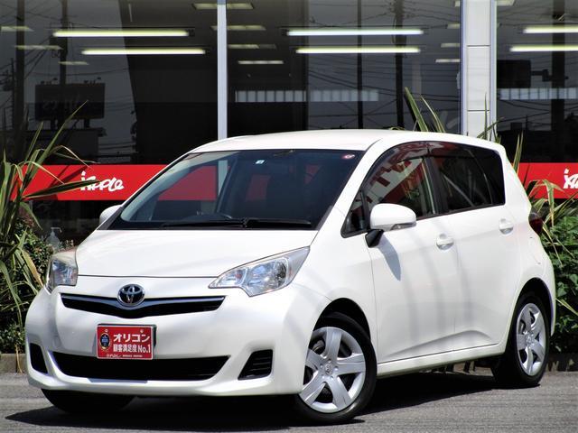 トヨタ ラクティス X 1.3リッター タイミングチェーン ナビ ワンセグTV Bluetooth 当店買取車