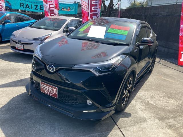 トヨタ C-HR G LEDエディション スマートキー アイドリングストップ イモビライザー ABS CD