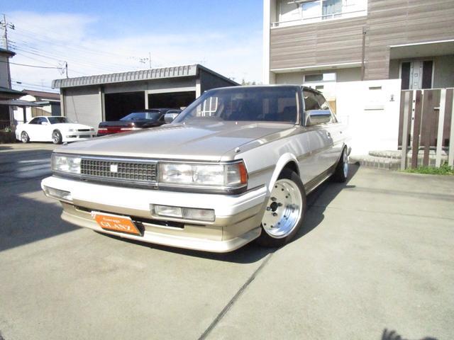 トヨタ クレスタ GTツインターボ5速公認空冷インタークーラー旧車マークI