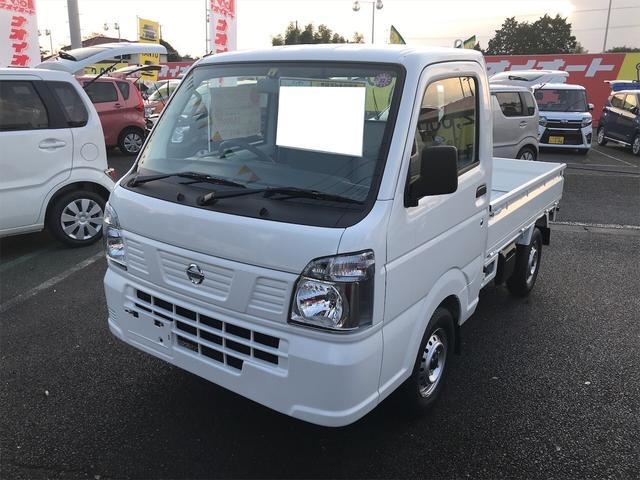 日産 DX AC MT 軽トラック ホワイト