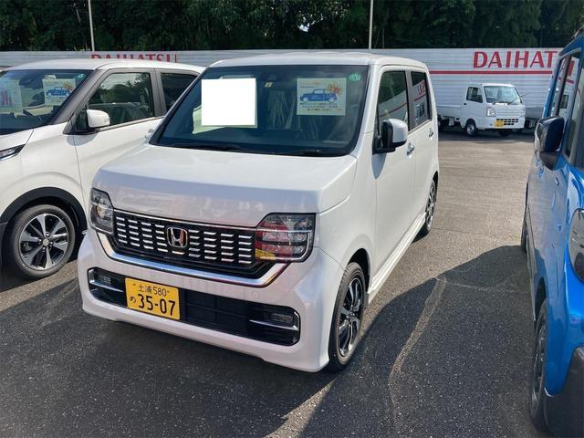 ホンダ N-WGNカスタム L Honda SENSING 届出済未使用車