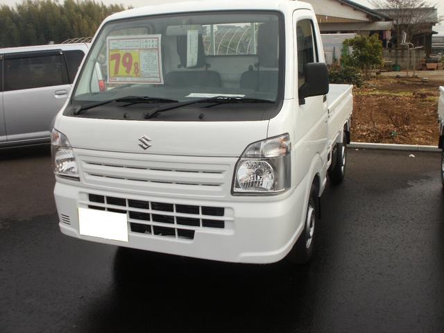 スズキ KCエアコン・パワステ MT 4WD