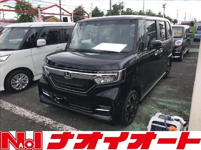 ホンダ N-BOXカスタム G・Lターボホンダセンシング ブレーキサポート W電動ドア