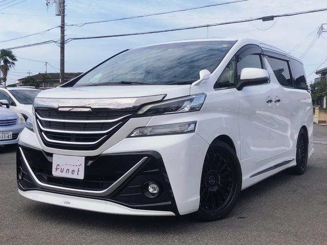 トヨタ 3.5ZA Gエディション サンルーフ ハーフレザーシート