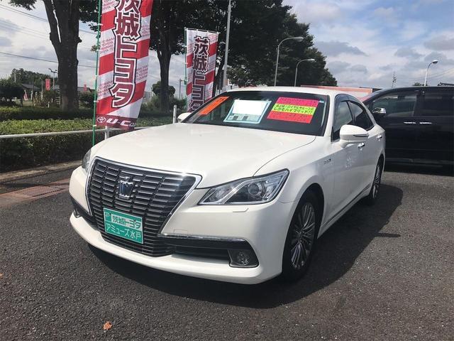 トヨタ ロイヤルサルーンG 衝突被害軽減 Sヒーター クルコン バックカメラ イモビライザー HDDナビ
