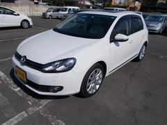 VW ゴルフTSIハイライン サンルーフ 革シート メモリーナビ ETC