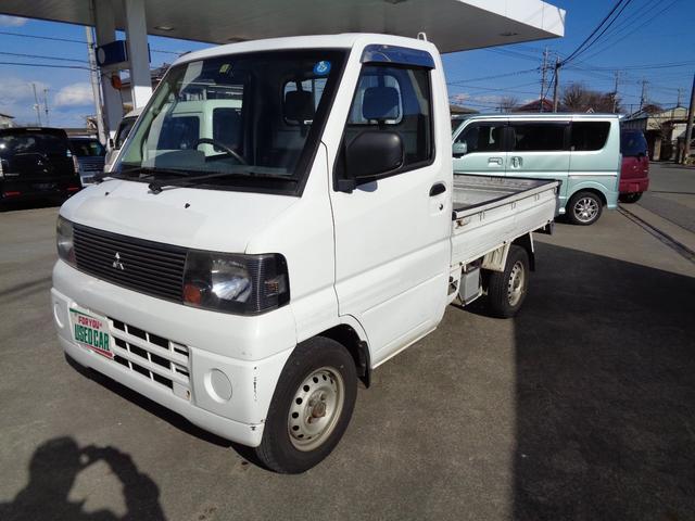 三菱 ミニキャブトラック VX-SE エアコン パワステ付 5速マニュアル 3方開