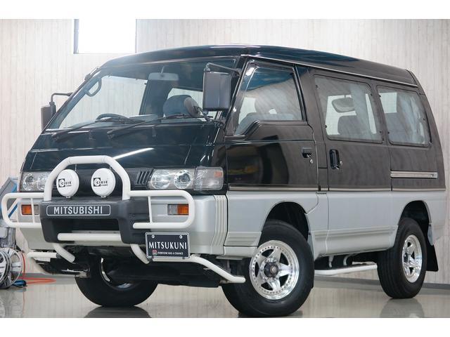 三菱 GLX  ディーゼルターボ パートタイム4WD グリルガード