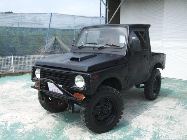 スズキ HA 改 バンカット リフトアップ公認 5MT 4WD